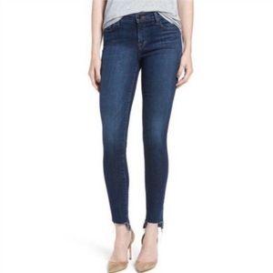 Paper Denim & Cloth Step Cut Off Hem Skinny Jeans